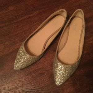 Glitter shoes, size 9.